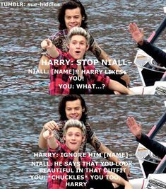 Find images and videos about one direction, niall horan and Harry Styles on We Heart It - the app to get lost in what you love. One Direction Louis, One Direction Quotes, One Direction Imagines, One Direction Pictures, Harry Styles Images, Harry Styles Cute, Niall E Harry, Harry Imagines, James Horan
