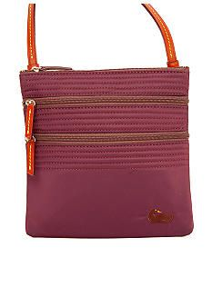 e1542d4fbb Dooney   Bourke Triple Zip Nylon Crossbody