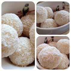 brigadeiro gourmet coco 160 g de chocolate branco 7 0g de coco ralado seco e mais para decorar Obs.: o modo de preparo continua o mesmo da receita básica.