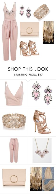"""Bez naslova #34"" by nizama-nizy ❤ liked on Polyvore featuring Erickson Beamon, Oasis, Steve Madden and Topshop"