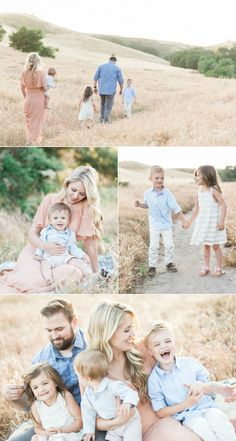 This location is one of my favorites in Orange County in the spring. The light and tones are such a stunning backdrop for family sessions at this time of year. Love this session so much of Ashley and her family in this gorgeous Orange County field. Spring Family Pictures, Beach Family Photos, Family Pics, Family Photos What To Wear, Outdoor Family Photos, Family Field Pictures, Neutral Family Photos, Spring Pics, Baby Family