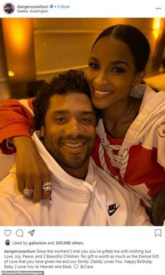 Ciara celebrates her birthday with a private jet, a yacht, and her husband Russell Wilson Russell Wilson Memes, Russell Wilson Shirtless, Ciara And Russell Wilson, Ciara Wilson, Wilson Seahawks, Seattle Seahawks, Ciara Style, Fit Couples, Dope Couples