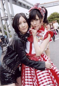Juritan and Mayuyu. Matsui Jurina and Watanabe Mayu (AKB48)