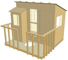 Treehouse Floor Plans Free Tree House Building Plans Floor