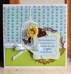 Card, Susanne, Jillibean Soup, Birdcage.