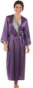 50th Birthday Gifts for Women TexereSilk Women Luxury Long Silk Bathrobe  50th Birthday Gifts For Woman 481e555ae