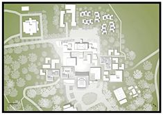 Joint Security Area, Longitudinal Section, Freedom House, Wooden Columns, Restaurant Marketing, Create Space, Architecture Plan, Urban Planning, Portfolio