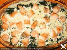 Spinat - Kartoffel - Lachs - Auflauf (Rezept mit Bild) | Chefkoch.de