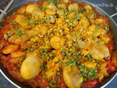 paella s morksymi plodmi Ethnic Recipes, Food, Ideas, Essen, Meals, Thoughts, Yemek, Eten