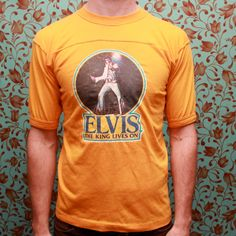 Elvis the king lives on Jersey by RomancingTheGhost on Etsy, $13.66