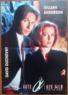 THE X-FILES Gillian Anderson - David Duchovny Poster Articles Clippings Lot Magazine | eBay