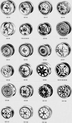 Cromodora wheels CD 15 - CD 145