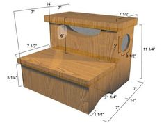 How to Build a Storage Step Stool : Home Improvement : DIY Network