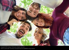 Photo 'Group of young people together outdoors' by 'javiindy'