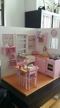 Tips For Elegant Home Decor Elegant Home Decor, Elegant Homes, Ikea Duktig, Diy Room Decor, Bedroom Decor, Diy Kids Kitchen, Barbie Doll House, Toy Rooms, Little Girl Rooms