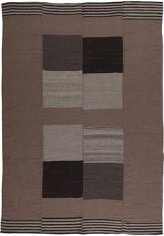 Contemporary Turkish Modernist Kilim 12x9 N10856 by Doris Leslie Blau