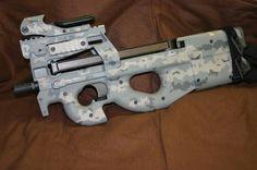 FN P90 Camo 9 '' MY PRECIOUS ''