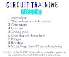 6 week beginner's workout routine  strength training