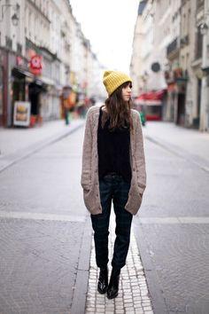 Street Style - Mustard Cap
