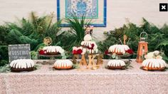 Nothing Bundt Cakes instead of traditional wedding cake. Wedding Cupcake Table, Wedding Cupcakes, Nothing Bundt Cakes, Traditional Wedding Cake, Reception Ideas, Wedding Ideas, Table Decorations, Wedding Ceremony Ideas, Dinner Table Decorations