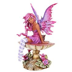 Magenta Faery Figurine by Amy Brown