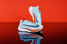 Nike's New Shoe Could Propel Marathoners to an Impossible Feat   Nike will release two consumer versions of the Vaporfly Elite this June. The more expensive of the two, the Zoom Vaporfly 4% ($250, pictured here), features the same ultralight ZoomX midsole foam and carbon fiber plate technologies as the customized shoes Tadese, Desisa, and Kipchoge will wear in their world-record attempt in May.   Credit:Cait Oppermann for WIRED   From WIRED.com