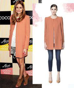 Zara Mantel Blogger Sold Out Olivia Palermo M