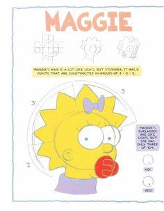 The Simpsons Original Model SheetsThe Simpsons Original Model Sheets
