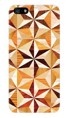 寄木細工・六角麻の葉