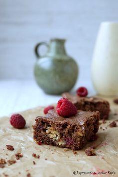Experimente aus meiner Küche: Brownies mit Himbeeren und weißer Schokolade