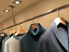 Napoleone Erba #cashmere #PittiImmagine #Florence #hangwithcare #hangers #Toscanini