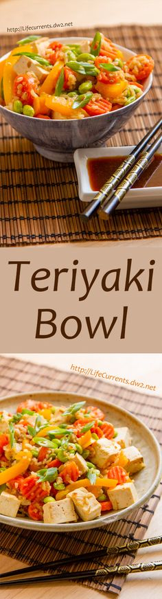 Teriyaki Bowl - Life Currents