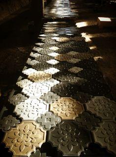 3d Tiles, Concrete Tiles, Paving Pattern, Stone Molds, Xiamen, B & B, Knock Knock, Textures Patterns, Animal Print Rug