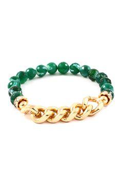 Emerald Agate Bracelet | Emma Stine Jewelry Bracelets