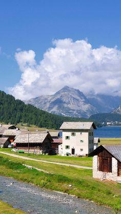 Isola-Maloja-Switzerland