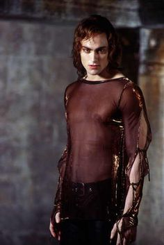 Queen of the Damned Lestat...i dont know why but i love this wierd movie