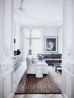 {décor inspiration | ornate austerity : by gilles et boissier, paris}