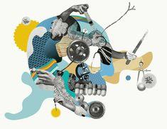 Collage Artist Ciara Phelan | The Lacquerie  http://thelacquerie.com/ciara-phelan/