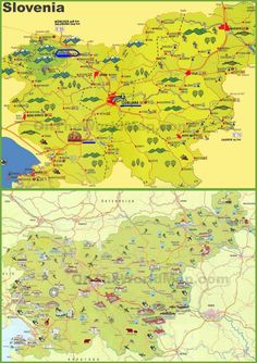 Slovenia Map: Google map of Slovenia | He Wants to Move WHERE ...