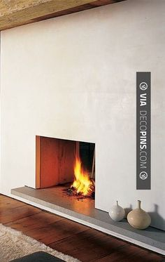 Fantastic! - minimalistic fireplace | CHECK OUT MORE FIREPLACE ...