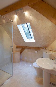 second bedroom en-suite - 2015 The Woodhouse, Garden Design, House Design, Timber Frames, Two Bedroom, Build Your Own, Corner Bathtub, Home, Diy