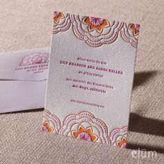 Stitched Save the Date