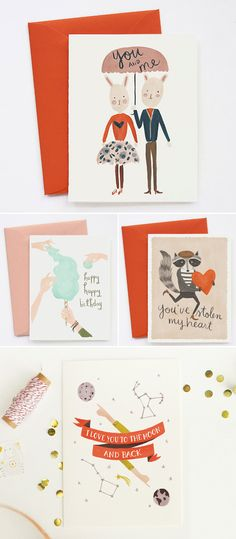 Creative Stationery Designs – Quill & Fox