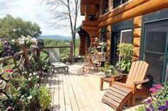 Log Cabins Patio