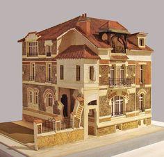 La maquette d'un hôtel particulier art nouveau au Musée de… | Flickr