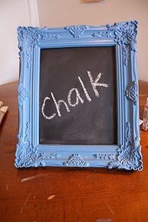 photobooth prop - chalkboard