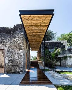 AS Arquitectura and R79 transformed this southeast Mexican hacienda into a boutique hotel a site to emphasize coexistence with nature and history. via- amazing, design