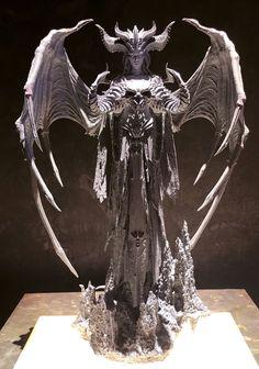 Lilith Diablo, Diablo Cosplay, Alien Creatures, Dark Art, Sculpture Art, Landscape Paintings, Statue, Helmet, Vogue