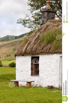 A scottish crofters cottage