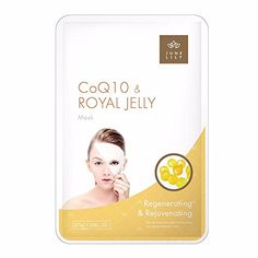 JUNE LILY CoQ10 and Royal Jelly Beauty Moisturizing Facial Mask, 10 Count #deals